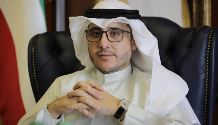 وزير الخارجية الكويتى الشيخ الدكتور أحمد ناصر المحمد الصباح