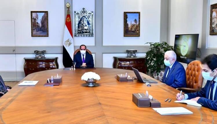 اجتماع الرئيس السيسي مع وزير التربية والتعليم