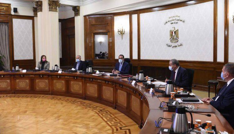 جانب من اجتماع رئيس مجلس الوزراء