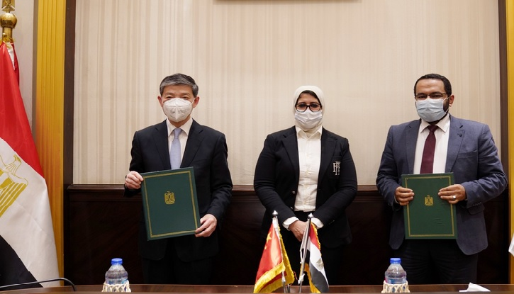 توقيع خطاب النوايا بين مصر والصين بشأن التعاون في لقاح كورونا