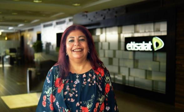 داليا الجزيري، الرئيس التنفيذي للموارد البشرية والإدارية بشركة اتصالات مصر