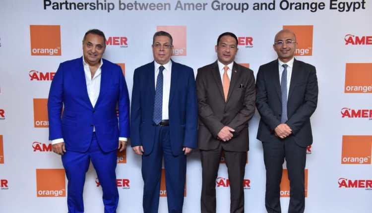 «أورنج» تجدد اتفاقية الشراكة مع «عامر جروب»