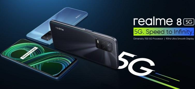 هاتف realme 8 5G