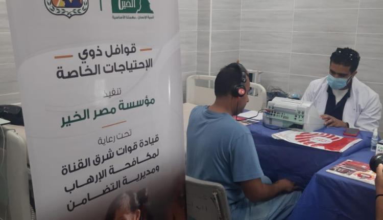 مصر الخير تطلق قافلة طبية لخدمة ذوي الهمم بجنوب سيناء