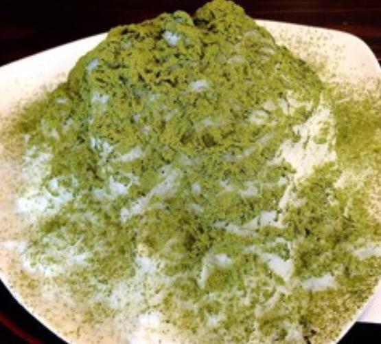 アムウェイデザートレシピ :ニュートリビフィズスで雪花氷(シェーフォアピン)