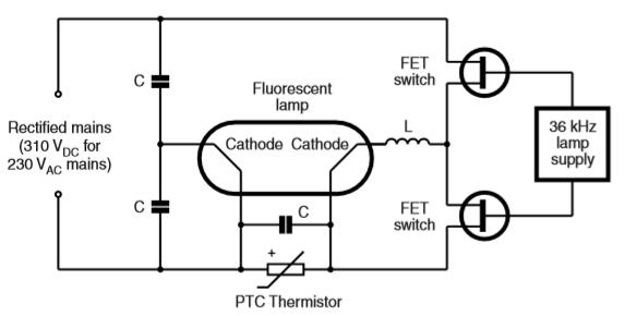 PTC Thermistors Lighting Switching
