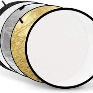 [RENT] Godox 43-Inch (80cm) Round Portable Collapsible Light Reflector for Studio and Photography