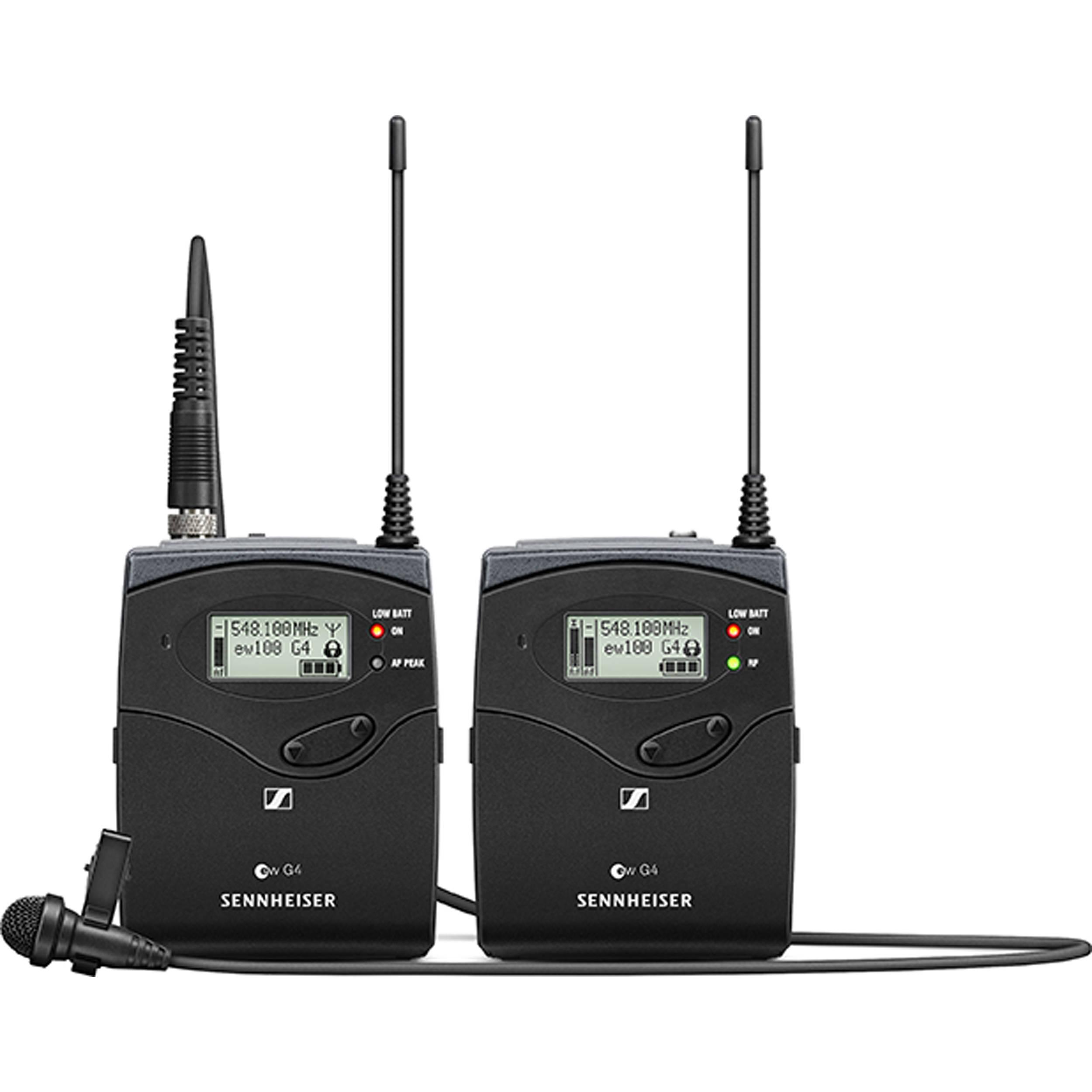 [RENT] Sennheiser EW 112P G4 – A Omni-directional Wireless Lavalier Microphone System