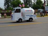 Miniature Amera-Gas tanker truck.