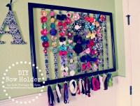 DIY Bow Holder | Life Through My Eyes