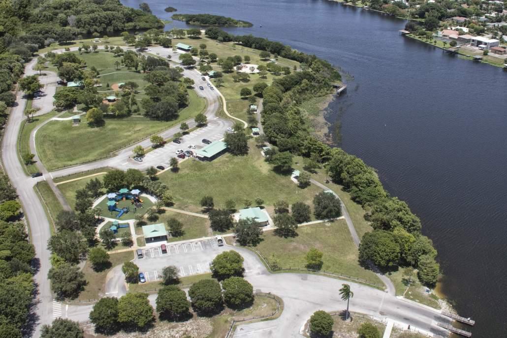 park aerial photo