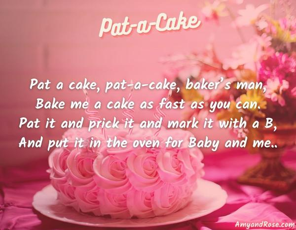 Pat a Cake Lullaby Lyrics