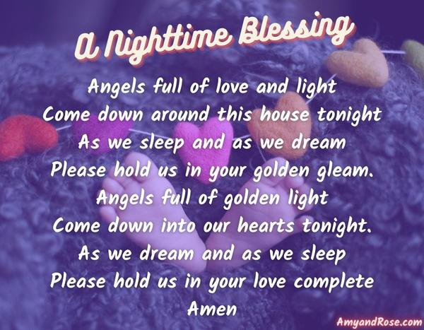 A Nighttime Blessing Lullaby Lyrics