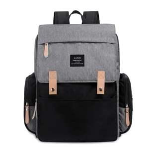 Original Land Diaper Backpack Bag - Grey Rixi - AmyandRose