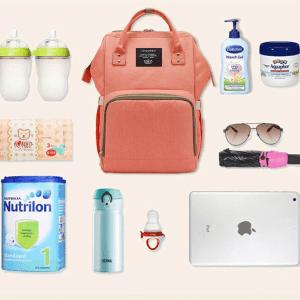 Lequeen Diaper Bag Backpack