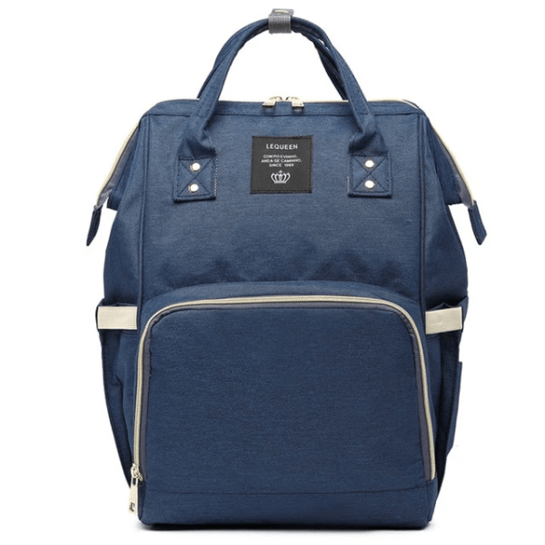 Lequeen Diaper Bag Backpack Navy