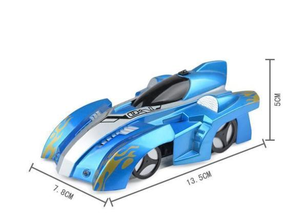 AmyandRose Zero Gravity Wall Climbing RC Car with USB Charging Dimensions