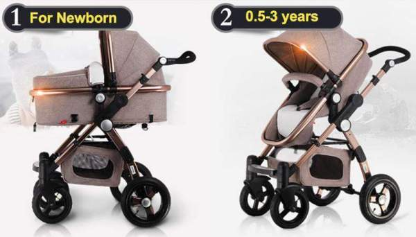 Baby Stroller 3 in 1 Age