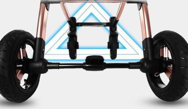 Baby Stroller 3 in 1 Sturdy Design