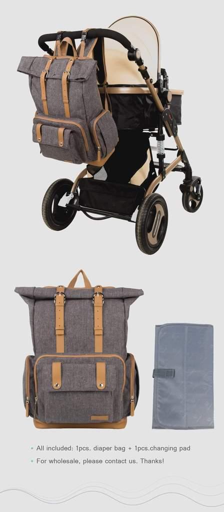Diaper Bag for Dads Stroller