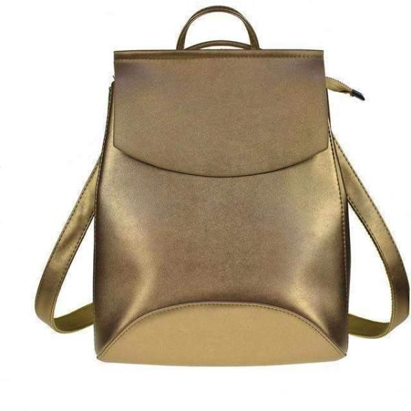 Grace Multifunctional Bag Backpack Gold