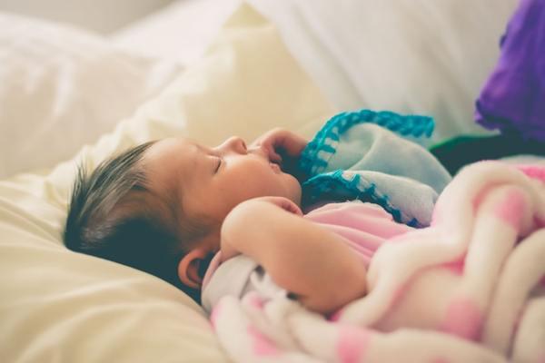 Sleep with the baby