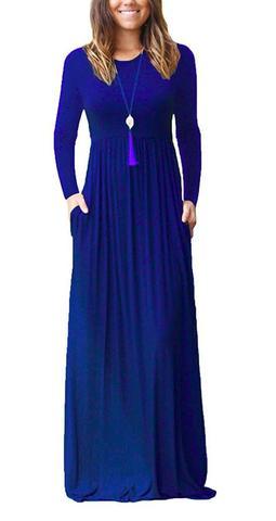 Long and loose child bearing dress