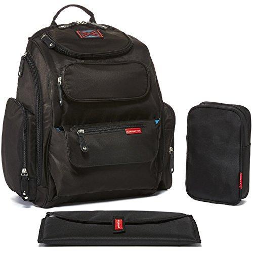 Nappy Bag Convertible Backpack - AmyandRose