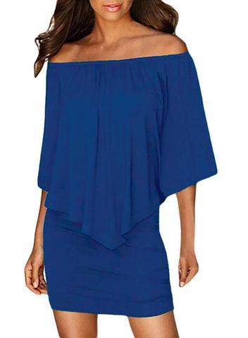 Off shoulder bodycon pregnancy dress