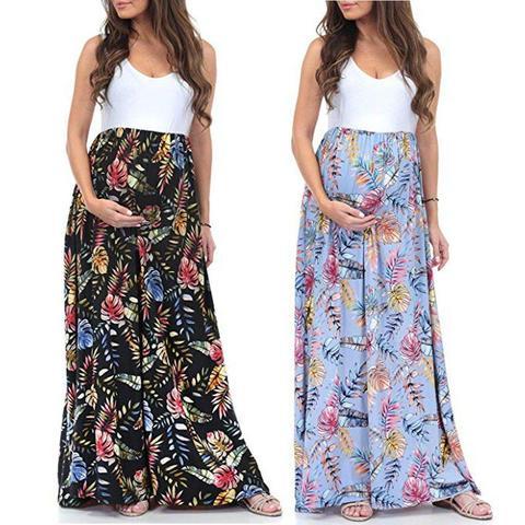 Sleeveless Splicing dress