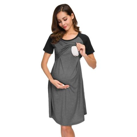 Breastfeeding nursing dress