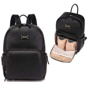 Janet Leather Diaper Backpack