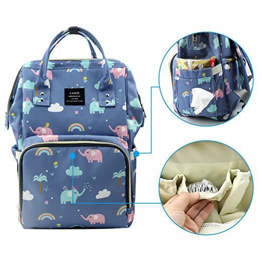 Elephant Maternity Bag with Pockets