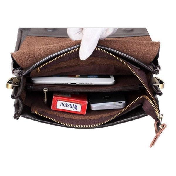 Polo Messenger Bag Open