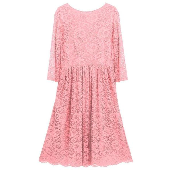 Floral Cocktail Party Maternity Dress Pink