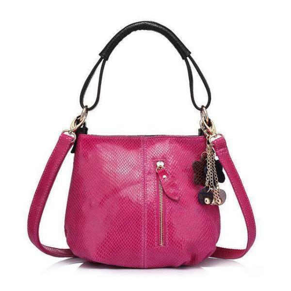 Sissy Leather Handbag Pink