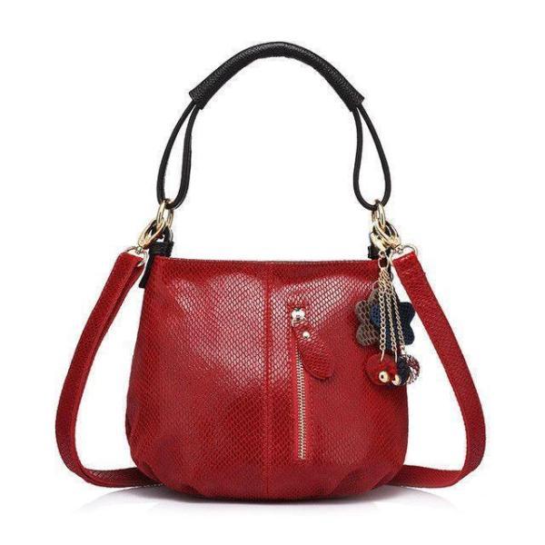 Sissy Leather Handbag Red