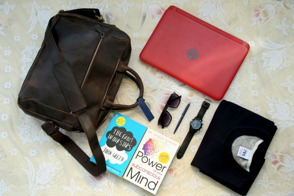 Leather Convertible Backpack Spacious Functional