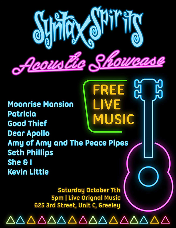 Syntax Spirits Acoustic Showcase featuring Amy