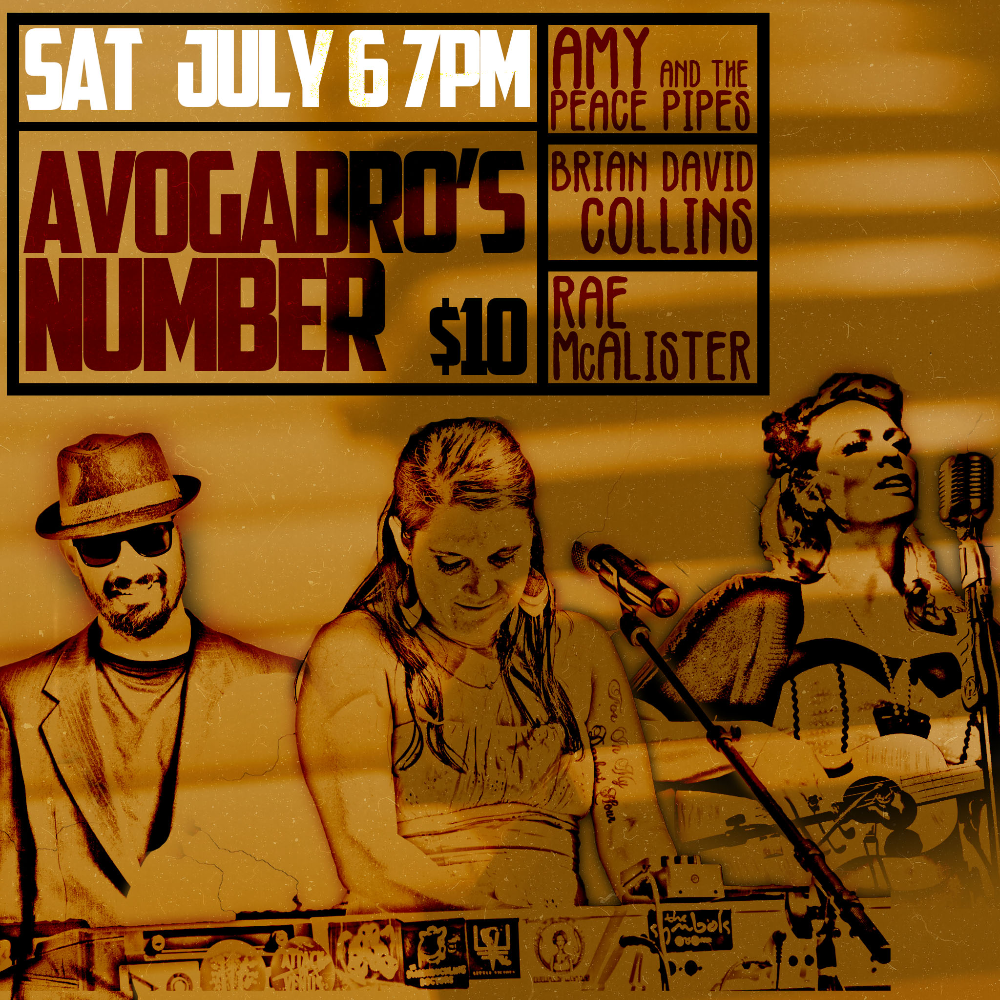 Avogadro's Number w/ Rae McAlister and Brian David Collins