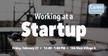 Career Conversation: Working at a Startup Marquee Image