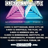Preview: DJ Fresh at Pyramids Centre, Portsmouth (15/11/12)