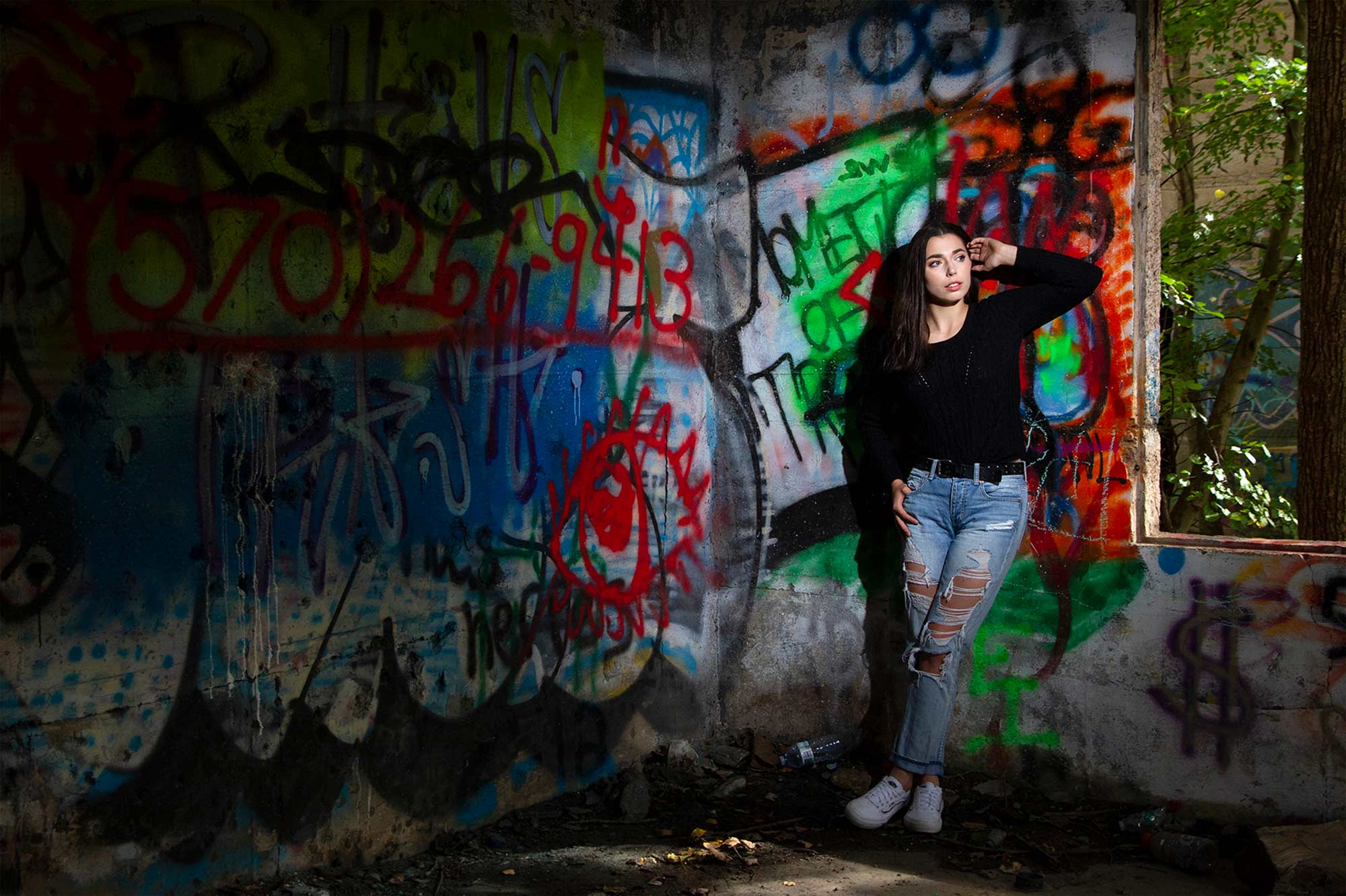 Dallas High School Senior Portraits, Concrete City, Wilkes-Barre, Nanticoke, PA