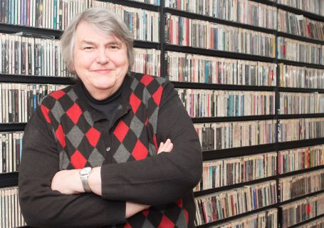 52 Phenomenal Women- photo essays by Amy Boyle Photography benefitting Dress for Success Worldwide – Central.2019 - pictured Terri Hemmert at WXRT Chicago's Finest Rock