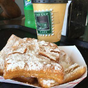 Cafe au lait and beignets? Don't mind if I do.