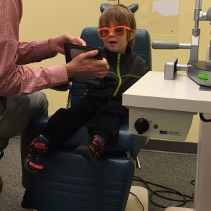 Eye exams are way more fun for the small set