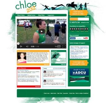 Chloe2012 Website