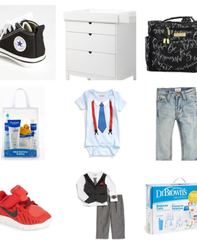 Must Haves and Wish List ideas for baby boy!
