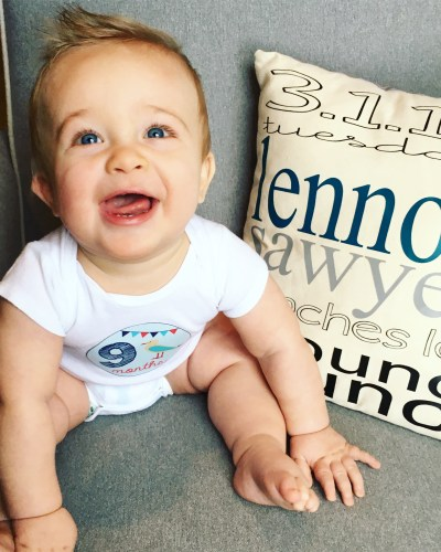 Lennox is 9 months old!!