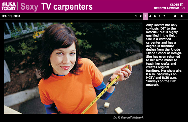 USAToday sexy TV carpenters